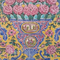 Igreja pintada nos azulejos